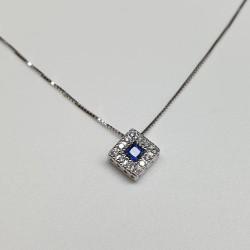 armonie-progetti-oro-girocollo-oro-bianco-zaffiro-quadrato-diamanti-p4rq