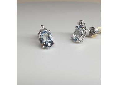 Armonie-by-Progetti-Oro-Orecchini-oro-bianco-acquamarina-taglio-ovale-e-diamanti-p299