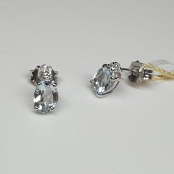 Armonie-by-Progetti-Oro-orecchini-oro-bianco-acquamarina-taglio-ovale-con-diamante-p340