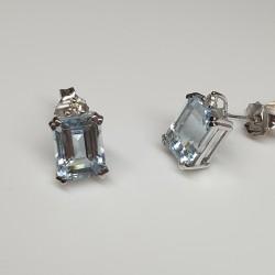 Armonie-by-Progetti-Oro-orecchini-oro-bianco-acquamarina-taglio-rettangolare-con-diamante-p05o