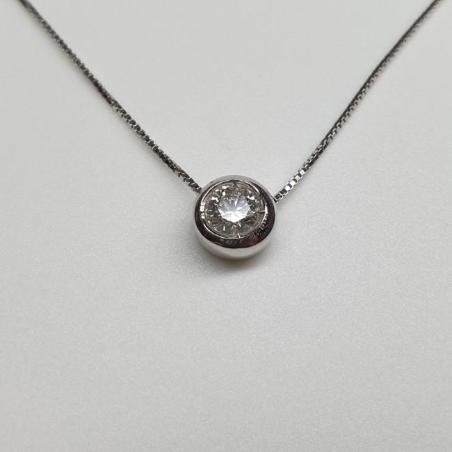 Fiorentino - Girocollo con diamante