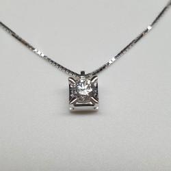 Armonie-by-Progetti-Oro-Girocollo-oro-bianco-con-diamante-taglio-brillante-clp100s