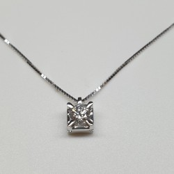 Armonie by Progetti Oro - Girocollo con diamante