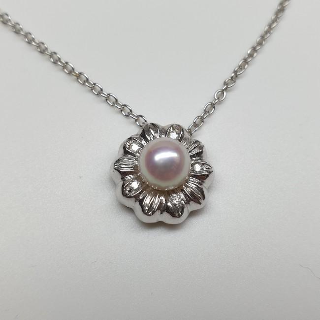 Fiorella - Girocollo con perla