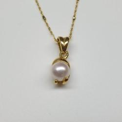Idea-Coral-Pendente-oro-giallo-con-perla-oicm