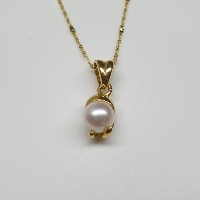 Idea Coral - Pendente con perla