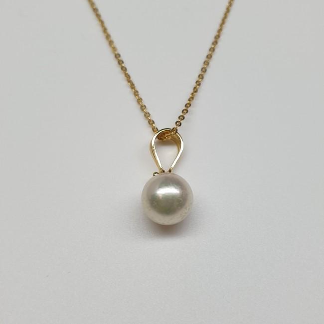 Armonie by Progetti Oro - Pendente con perla