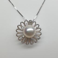 Recarlo - Girocollo perla e brillanti