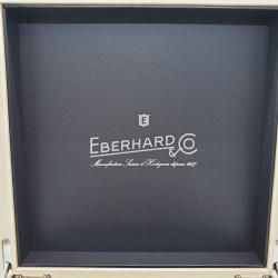 Eberhard - Orologio Aquadate cinturino pelle nero