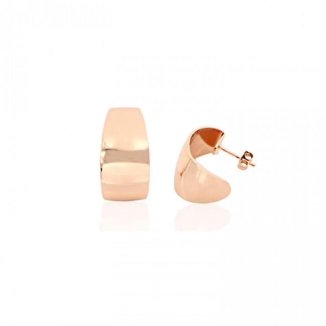 Unoaerre - Orecchini in bronzo rosa