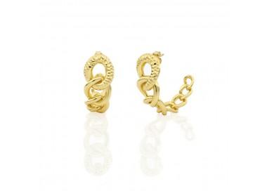 unoaerre-orecchini-bronzo-dorato-catena-grumetta-exo4198