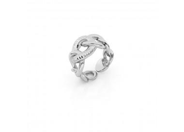 unoaerre-anello-bronzo-bianco-maglia-grumetta-exa065