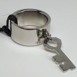 Rebecca-Anello-fascia-acciaio-pendente-chiave-Xlbaxx02