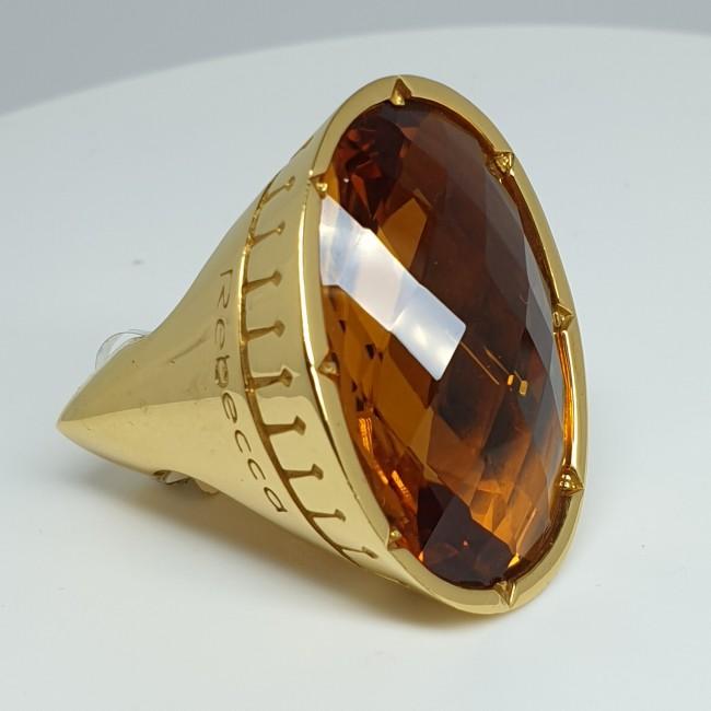 Rebecca-Anello-bronzo-dorato-con-pietra-naturale-Bstasc16