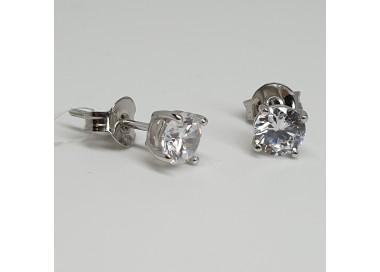 Orecchini-Argento-rodiato-punto-luce-con-zirconi-bianchi-p5ti
