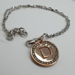 ArtEnigma-Bracciale-in-bronzo-con-pendente-lettera-D-e-cristalli-bianchi-mv101