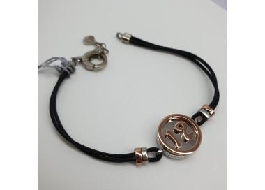 Luce-Bianca-Bracciale-argento-21-cordoncino-nero-e-dettagli-placcati-oro-rosa-qbc112
