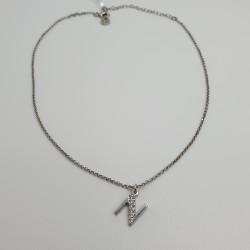 Jack-et-Co-Collana-argento-rodiato-iniziale-N-con-cristalli-bianchi-jcn0786