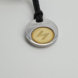 Rebecca-Pendente-acciaio-e-oro-serie-rune-ocr03
