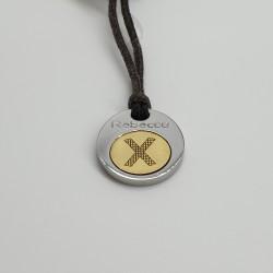 Rebecca-Pendente-acciaio-e-oro-serie-rune-ocr23