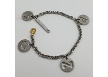 Rebecca-Bracciale-acciaio-con-pendenti-satinati-serie-rune-xbr05