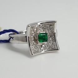 Recarlo-Anello-oro-bianco-diamanti-smeraldo-Aa182-bs