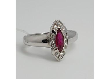 Recarlo-Anello-oro-bianco-diamanti-rubino-Ab679-bz