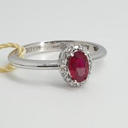 Armonie-by-Progetti-Oro-Anello-in-oro-bianco-con-diamanti-e-rubino-p5vy