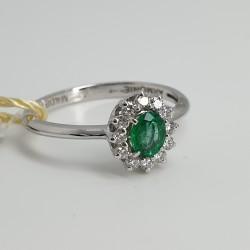 Armonie-by-Progetti-Oro-Anello-oro-bianco-diamanti-smeraldo-P5wr