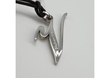 Rebecca-Pendente-acciaio-lucido-iniziale-lettera-V-Xwrmbb22