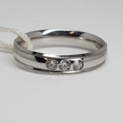unoaerre-fede-orion-oro-bianco-e-tre-diamanti