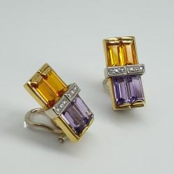 Centoventuno-Orecchini-oro-giallo-e-oro-bianco-con-diamanti-ametiste-e-citrini-cukao2b