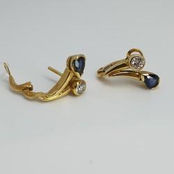Orecchini-perno-clip-in-oro-giallo-con-zaffiri-e-diamanti-ngl8