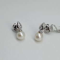 Armonie-by-progetti Oro-Orecchini-oro-bianco-perle-coltivate-acqua-mare-diamanti-taglio-brillante-Noc3