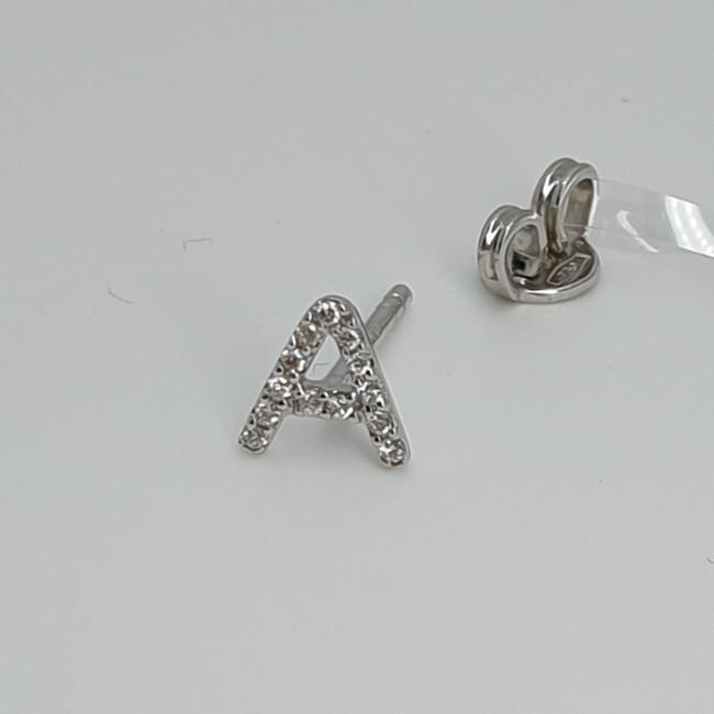 orecchino-lettera-a-iniziale-oro-bianco-Ompt