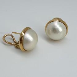 Orecchini-perno-clip-oro-giallo-con-perle-naturali-Mabe-p0as
