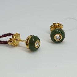Orecchini-a-lobo-oro-giallo-con-giada-e-diamanti-Sg3-80-k-14-g7