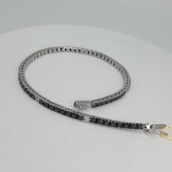 Armonie-by-Progetti-Oro-Bracciale-tennis-oro-bianco-diamanti-neri-bianchi-p5y4