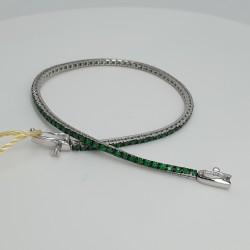 Armonie-by-Progetti-Oro-Bracciale-tennis-oro-bianco-smeraldi-p5ya