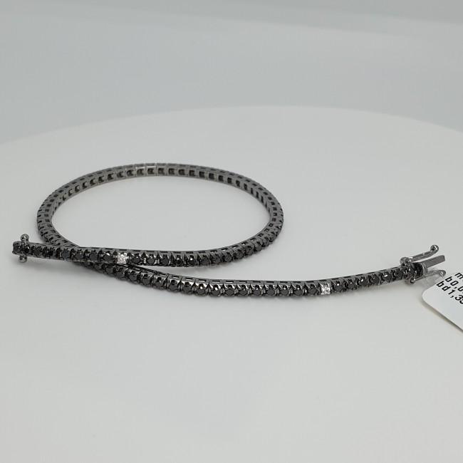 crivelli-bracciale-tennis-oro-bianco-rodiato-diamanti-bianchi-neri-p6b8