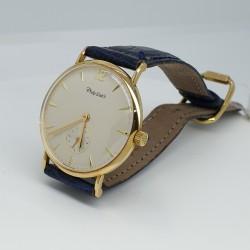 Philip-Watch-Orologio-uomo-cassa-oro-giallo-18kt-carica-manuale-cinturino-cocco-naturale-R8051551020