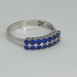 anello-oro-bianco-con-doppia-fila-zirconi-blu