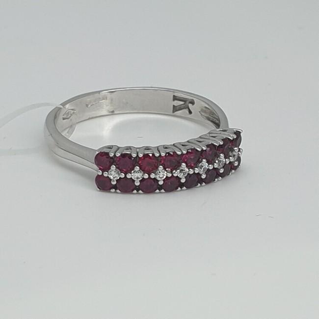 anello-oro-bianco-con-doppia-fila-zirconi-rossi