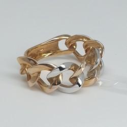 anello-catena-grumetta-oro-giallo-e-oro-bianco-lucido