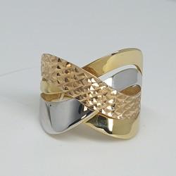 anello-fascia-fantasia-in-oro-giallo-e-bianco-lucido-e-oro-rosa-lavorazione-diamantata