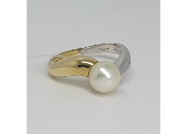 anello-oro-giallo-e-oro-bianco-lucido-con-perla-bianca