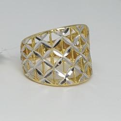 anello-fascia-in-oro-giallo-e-oro-bianco-lavorazione-sfaccettata-e-traforata