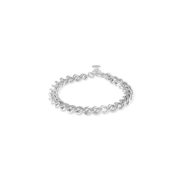unoaerre-bracciale-bronzo-argentato-catena-grumetta-cm18