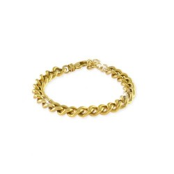 unoaerre-bracciale-bronzo-dorato-catena-grumetta-18cm-exb4124