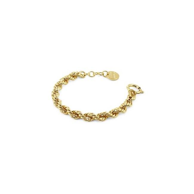 Unoaerre - Bracciale bronzo dorato